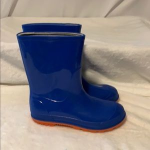Other - Rain Boots in Blue/Orange Size 13-1 Canada 🇨🇦